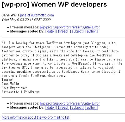 wanted_women_wordpress_developer